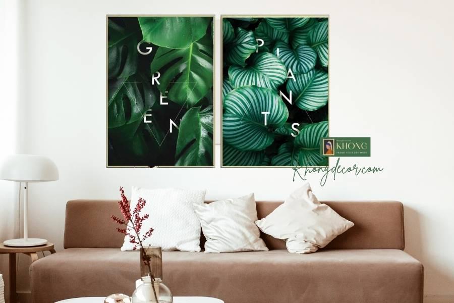 Tranh treo tường canvas có tính thẩm mỹ cao
